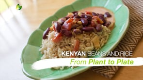 Kenyan Beans and Rice
