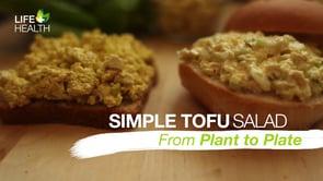Simple Tofu Salad
