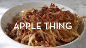 Recipe:  Apple Thing