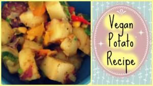 Healthy Breakfast Potato Recipe // Easy && Vegan // By a Dietitian