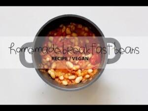Homemade Breakfast Beans Recipe / Vegan