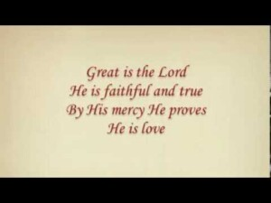 Great Is the Lord from Acapella Praise II Integrity Music