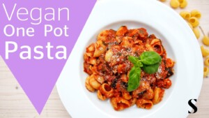 One pot pasta - Vegan, healthy and delicious recipe