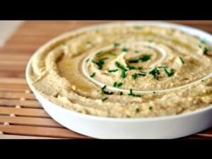 Raw Food Diet Recipes - Chickpea Hummus