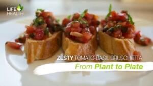 Zesty Tomato-Basil Bruschetta